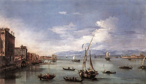 The Lagoon from the Fondamenta Nuove 1759 | Francesco Guardi | Oil Painting