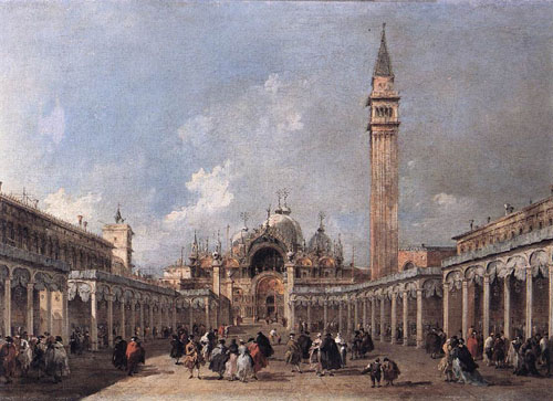 The Feast of the Ascension 1775 | Francesco Guardi | Oil Painting
