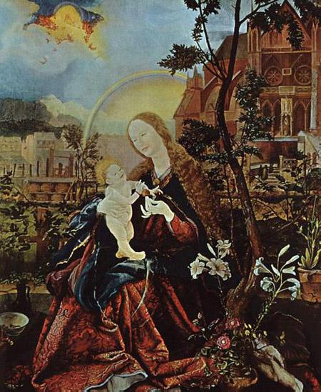Stuppach Madonna 1518 | Matthias Grunewald | Oil Painting