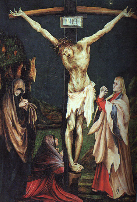 The Small Crucifixion 1511 1520 | Matthias Grunewald | Oil Painting