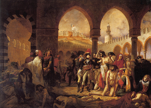 Bonaparte Visiting the Pesthouse in Jaffa March 11 1799 1804 | Antoine Jean Gros | Oil Painting