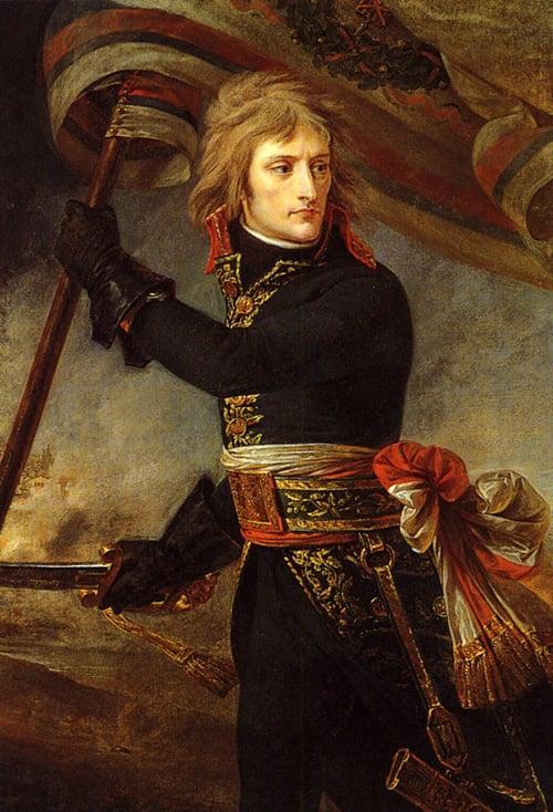 Bonaparte at the Bridge of Arcole | Antoine Jean Gros | Oil Painting
