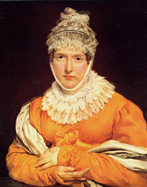 Portrait of Mademoiselle Recamier | Antoine Jean Gros | Oil Painting