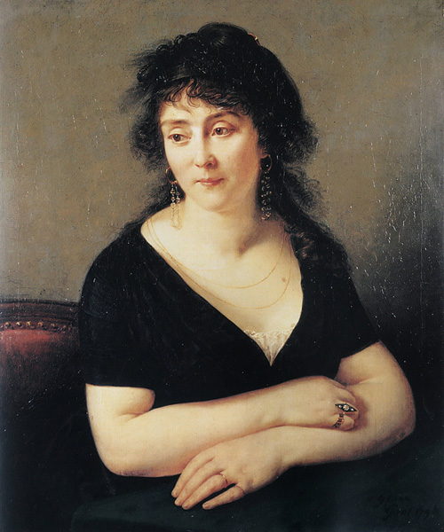 Portrait of Madame Bruyere | Antoine Jean Gros | Oil Painting
