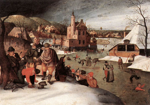 Winter 1607 | Abel Grimmer | Oil Painting