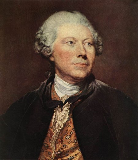 Portrait of Georges Wille 1763 | Jean Baptiste Greuze | Oil Painting