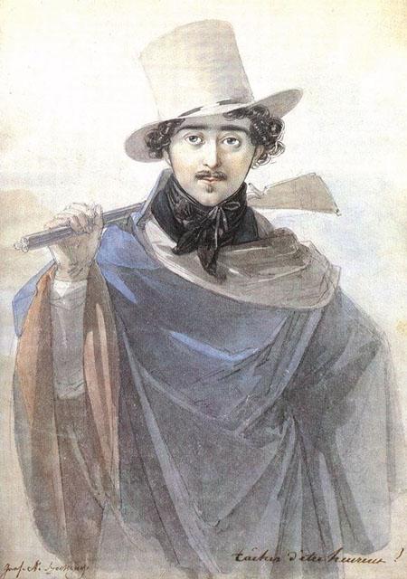 Count Istvan Szechenyi 1818 | Johann Nepomuk Ender | Oil Painting