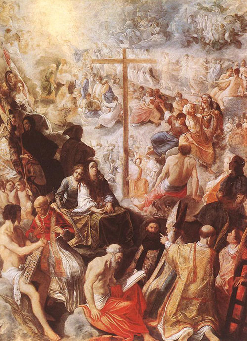 Glorification of the Cross 1605 | Adam Elsheimer | Oil Painting