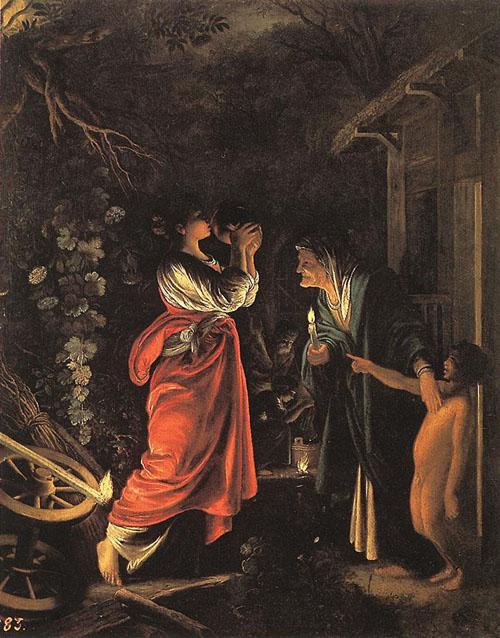 Ceres and Stellio | Adam Elsheimer | Oil Painting