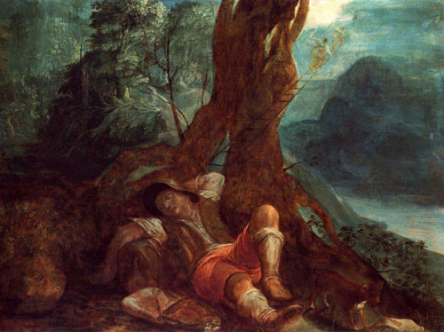 Jacobs Dream | Adam Elsheimer | Oil Painting