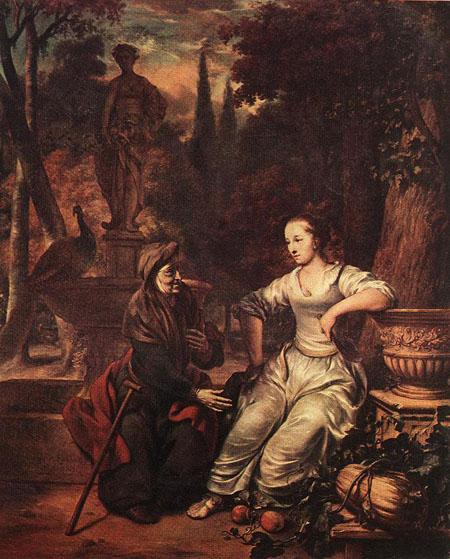 Vertumnus and Pomona 1669 | Gerbrand van den Eeckhout | Oil Painting