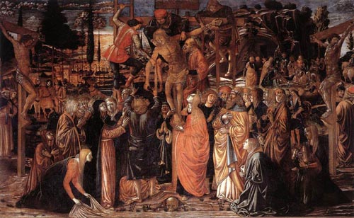 Descent from the Cross | Benozzo di Lese di Sandro Gozzoli | Oil Painting