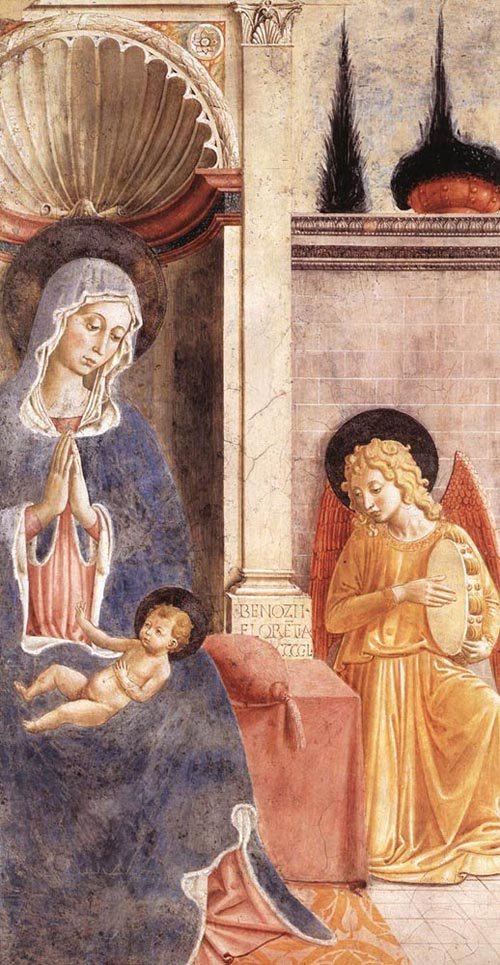 Madonna and Child 1450 | Benozzo di Lese di Sandro Gozzoli | Oil Painting