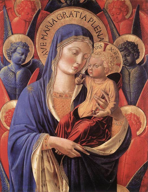 Madonna and Child 1460 846 | Benozzo di Lese di Sandro Gozzoli | Oil Painting
