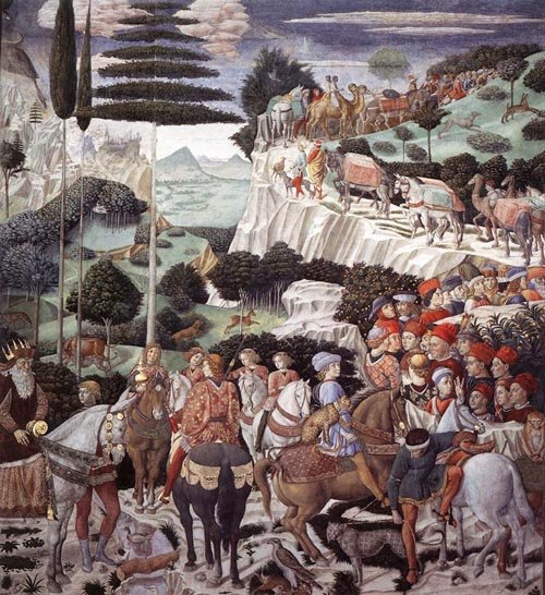 Procession of the Oldest King 1459 1460 | Benozzo di Lese di Sandro Gozzoli | Oil Painting