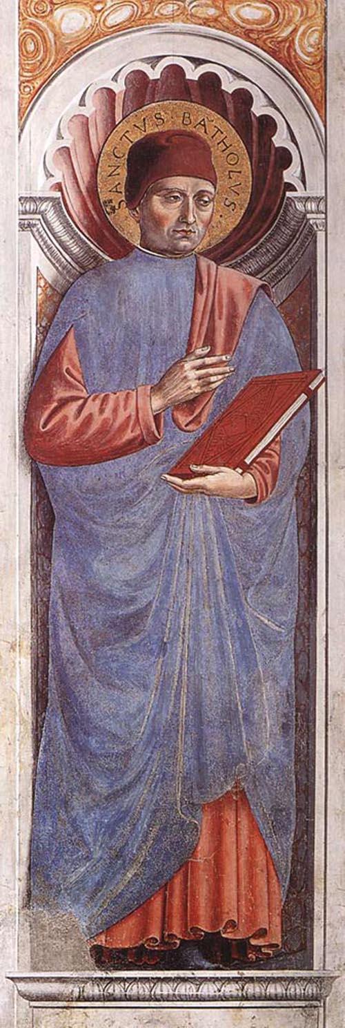 St Bartolus 1464 1465 | Benozzo di Lese di Sandro Gozzoli | Oil Painting