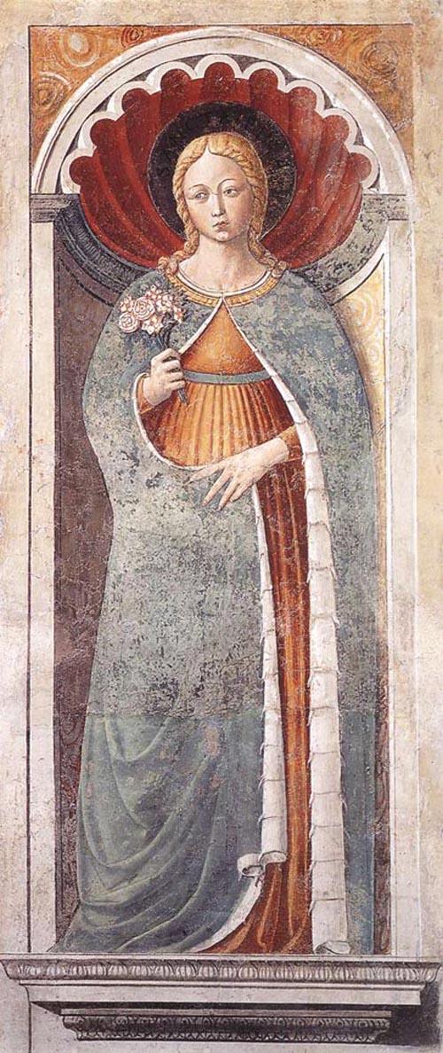 St Fina 1464 1465 | Benozzo di Lese di Sandro Gozzoli | Oil Painting