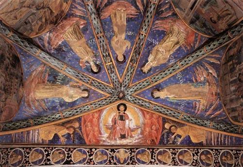 St Francis in Glory and Saints 1452 | Benozzo di Lese di Sandro Gozzoli | Oil Painting