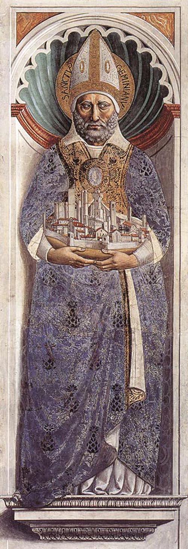 St Gimignano 1464 1465 | Benozzo di Lese di Sandro Gozzoli | Oil Painting