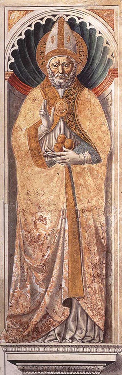 St Nicholas of Bari 1464 1465 | Benozzo di Lese di Sandro Gozzoli | Oil Painting