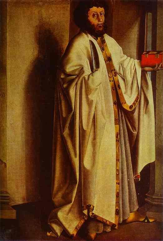 St Bartholomew 1435 | Konrad Witz | Oil Painting