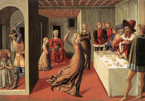 The Dance of Salome 1461 1462 | Benozzo di Lese di Sandro Gozzoli | Oil Painting