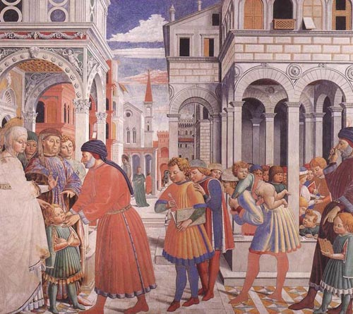 The School of Tagaste 1464 1465 | Benozzo di Lese di Sandro Gozzoli | Oil Painting
