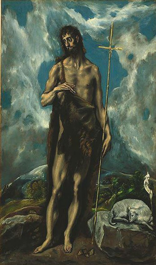 St John the Baptist 1600 | El Greco | Oil Painting