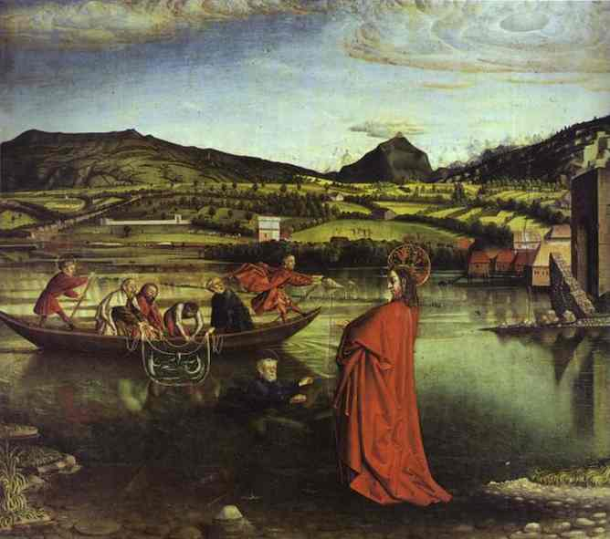 The Miraculous Draught Of Fishes 1444 | Konrad Witz | Oil Painting