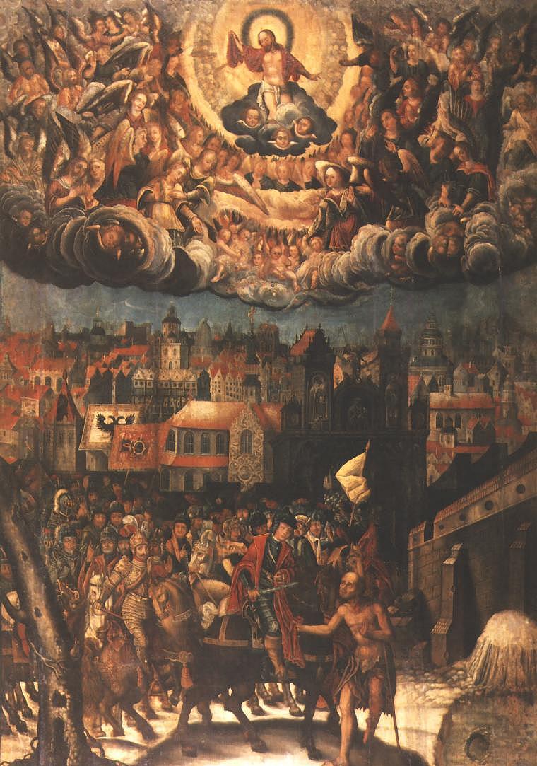 St. Martin of Tours 1628 | Krzysztof Boguszewski | Oil Painting