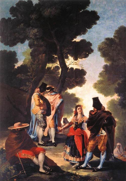 A Walk in Andalusia 1777 | Francisco de Goya | Oil Painting