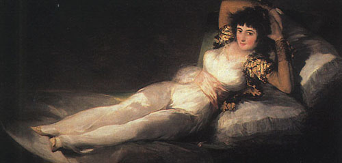 Clothed Maja 1800 1803 | Francisco de Goya | Oil Painting