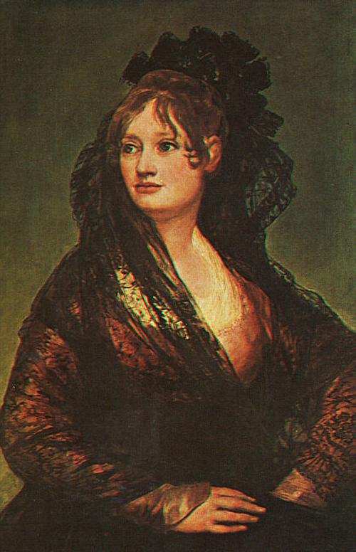 Dona Isabel Cobos de Porcel 1806 | Francisco de Goya | Oil Painting