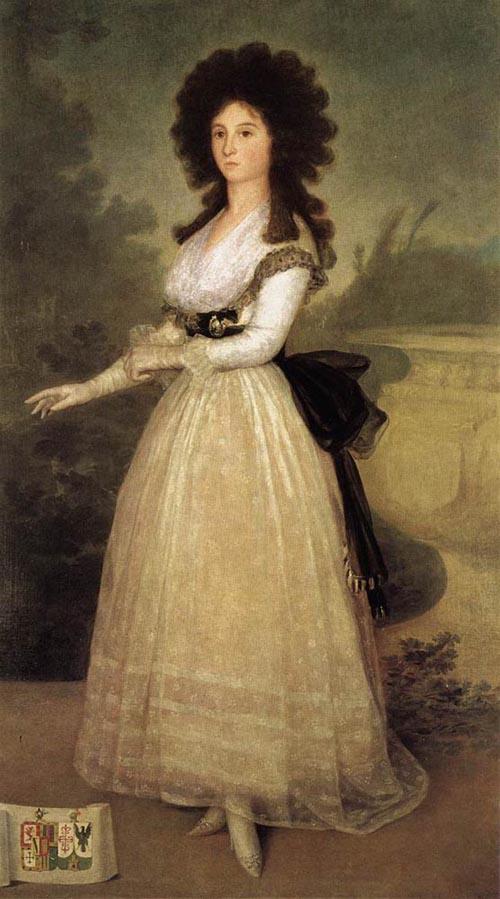 Dona Tadea Arias de Enriquez 1793 | Francisco de Goya | Oil Painting