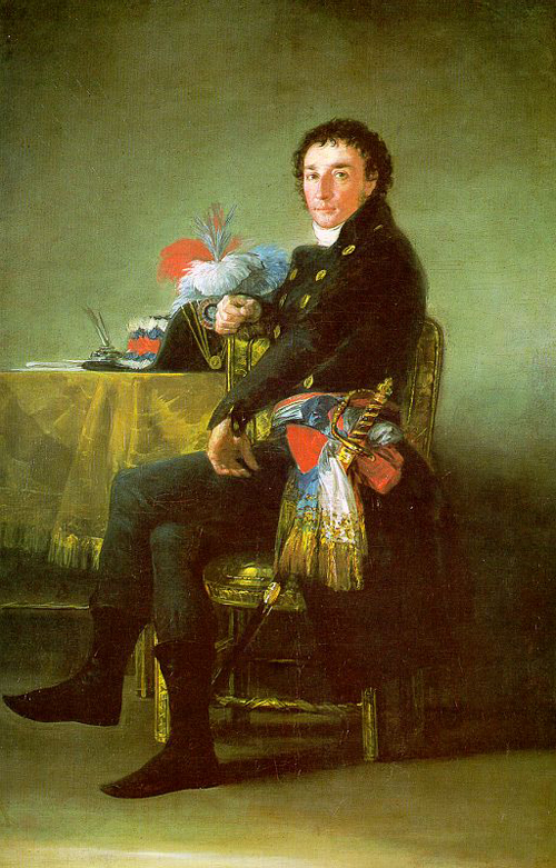Ferdinand Guillemardet 1798 | Francisco de Goya | Oil Painting
