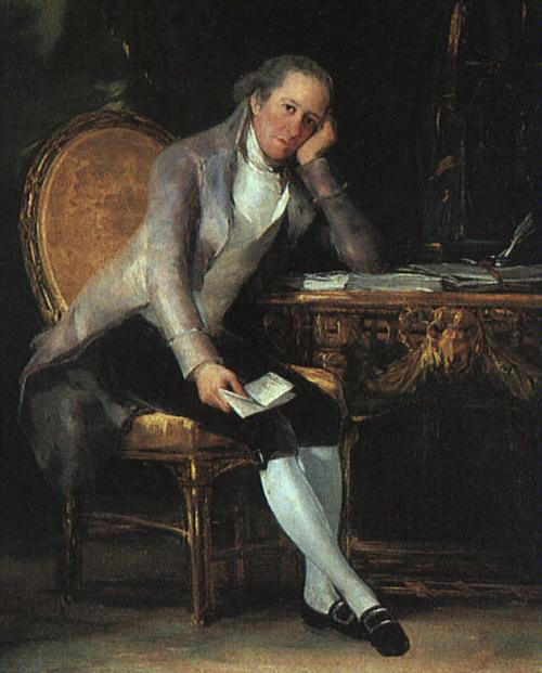 Gaspar Melchor de Jovellanos 1797 | Francisco de Goya | Oil Painting
