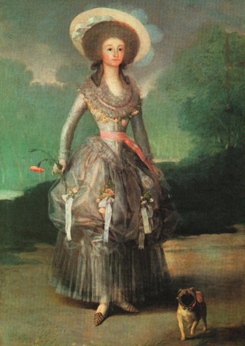 Marquesa de Pontejos 1786 | Francisco de Goya | Oil Painting