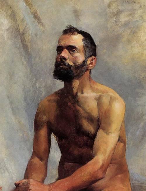 Academic Study Nude 1883 | Henri Toulouse Lautrec | Oil Painting