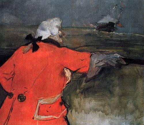 Admiral Viaud 1901 | Henri Toulouse Lautrec | Oil Painting