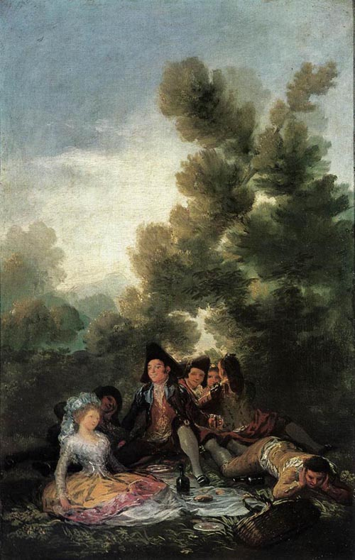 Picnic 1788 | Francisco de Goya | Oil Painting