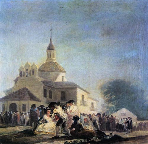 Pilgrimage to the Church of San Isidro 1788 | Francisco de Goya | Oil Painting