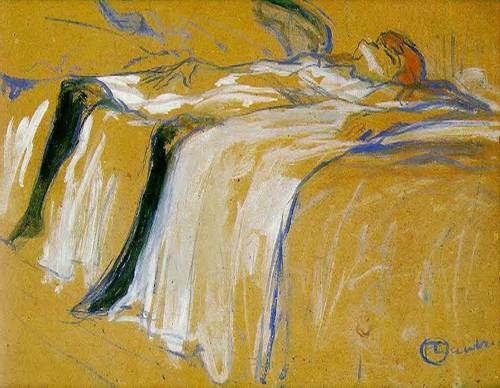 Alone 1896 | Henri Toulouse Lautrec | Oil Painting