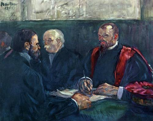 An Examination at the Faculty of Medicine Paris 1901 | Henri Toulouse Lautrec | Oil Painting