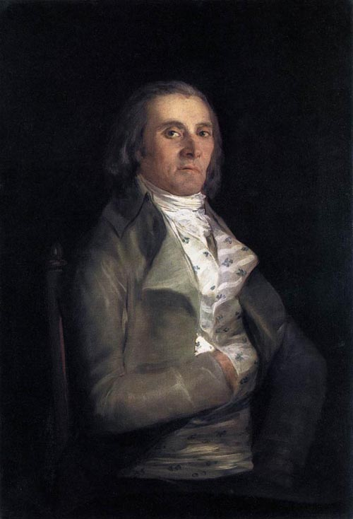 Portrait of Andres del Peral 1798 | Francisco de Goya | Oil Painting