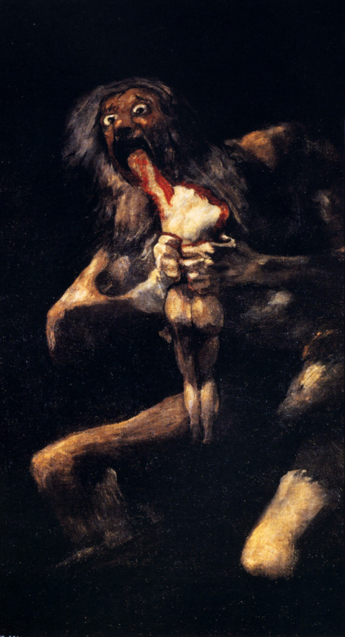Saturn Devouring His Sons | Francisco de Goya | Oil Painting