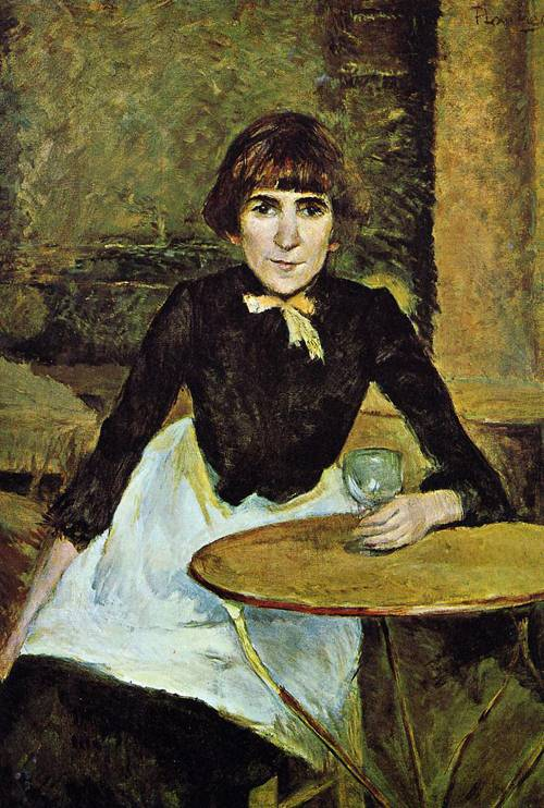 At La Bastille (aka Portrait of Jeanne Wenz) 1889 | Henri Toulouse Lautrec | Oil Painting