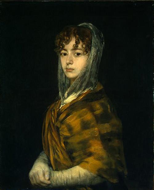 Senora Sabasa Garcia 1806 1811 | Francisco de Goya | Oil Painting