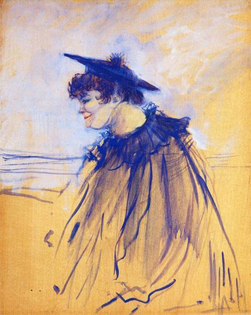 At Star Le Havre (aka Miss Dolly English Singer) 1899 | Henri Toulouse Lautrec | Oil Painting