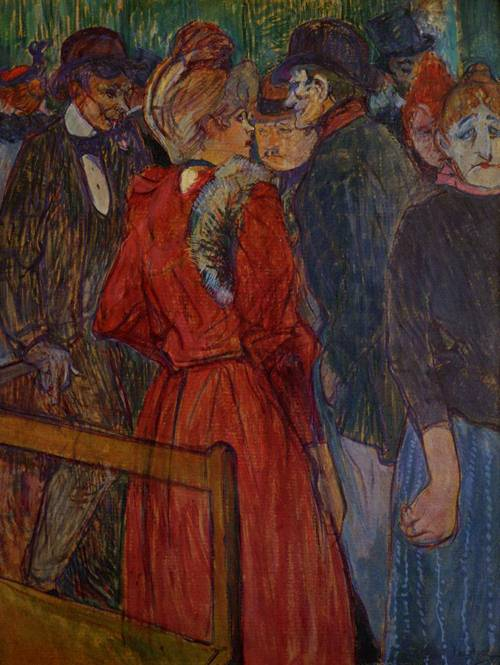 At the Moulin de la Galette 1891 | Henri Toulouse Lautrec | Oil Painting