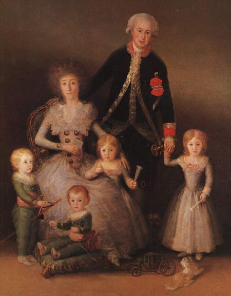 The Duke and Duchess of Osuna and their Children 1789 | Francisco de Goya | Oil Painting